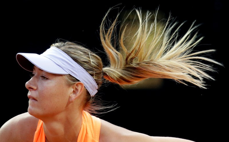 Sharapova receives wild card entry into pre-Wimbledon event
