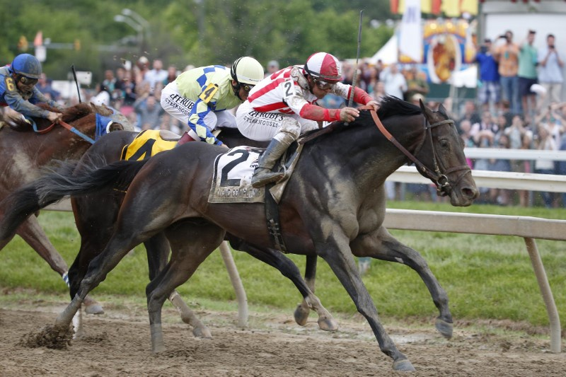 Cloud Computing springs upset in Preakness