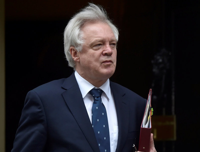 Brexit minister Davis says United Kingdom could still walk away with no deal