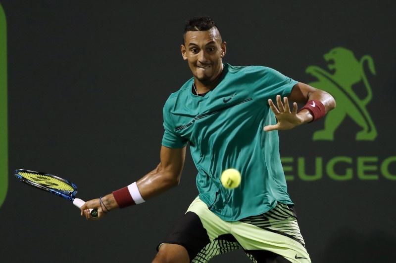 Cup pressure is on Kyrgios, says Courier