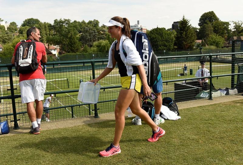 Konta outlasts Vekic to reach Wimbledon third round for the first time