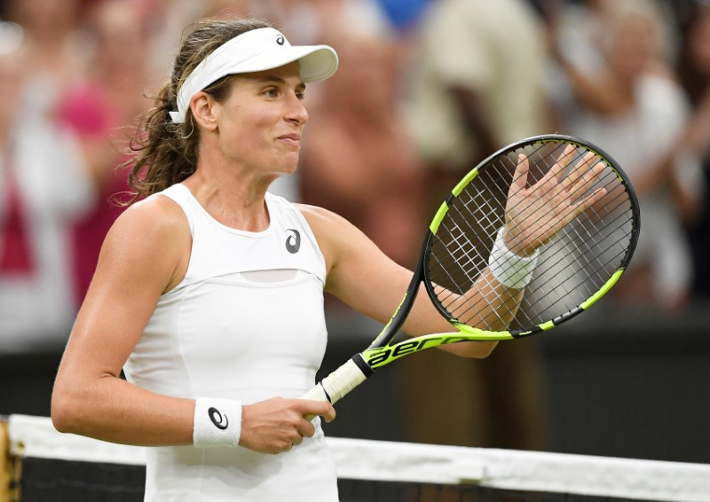 Venus Williams, Muguruza breeze into Wimbledon final