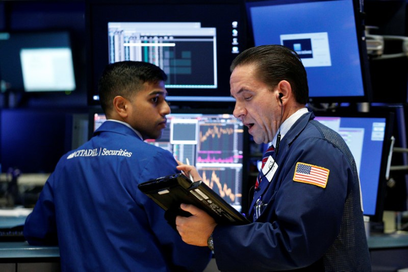 Tech stocks lead Wall Street with gains