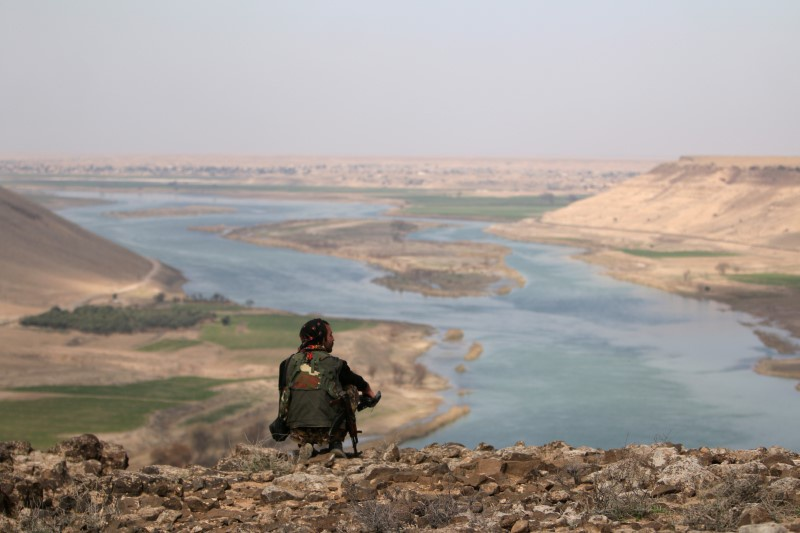 Backed Syrian fighters advancing toward IS-held Raqqa