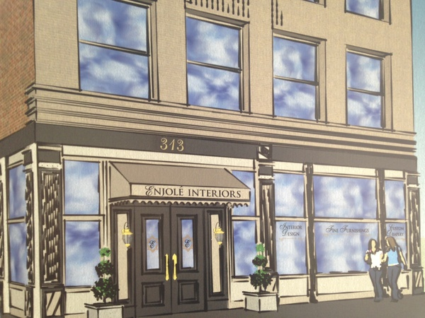 Enjole Interiors To Open In Downtown Evansville News 104 1 Wiky