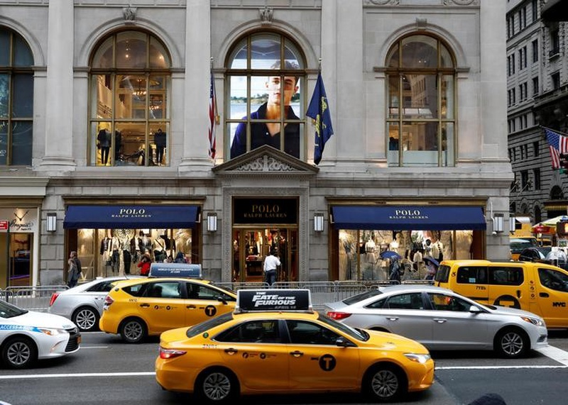 Ralph Lauren's quarterly sales down 13.2 percent
