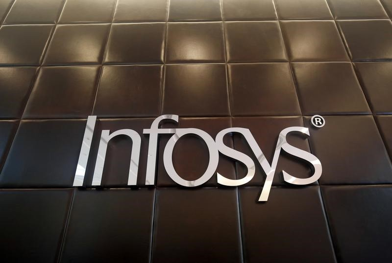Infosys shares fall on media report of stake sale by founders