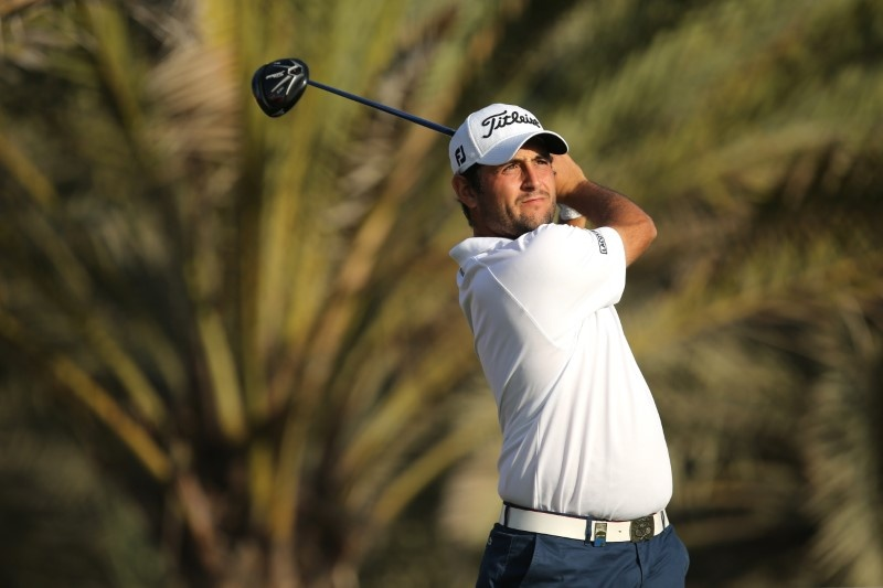 Larrazabal grabs halfway lead in China