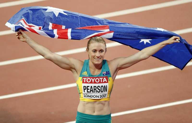 Sally Pearson regains 100m hurdles title