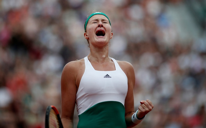 French Open 2017: Kristina Mladenovic downs Garbine Muguruza as impressive run continues