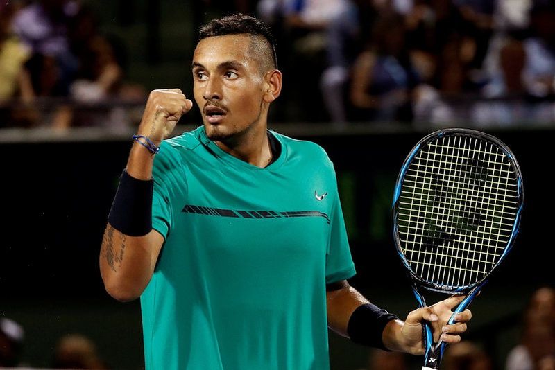 Mercurial Kyrgios marches past Kohlschreiber in French Open
