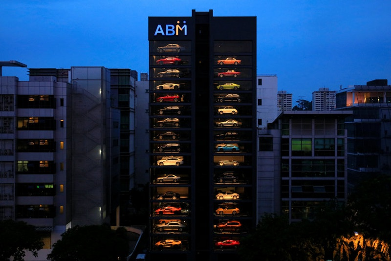 Gigantic Exotic Car Vending Machine Opens in Singapore
