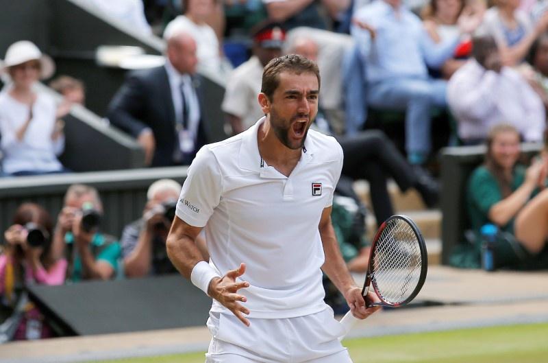 Roger Federer vs Marin Cilic, Wimbledon 2017 men's final