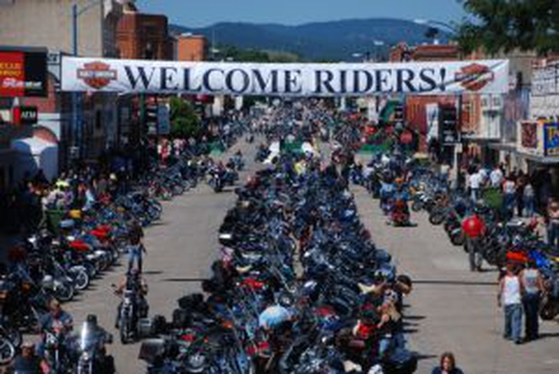 Sturgis Motorcycle Rally   Photo:  City of Sturgis