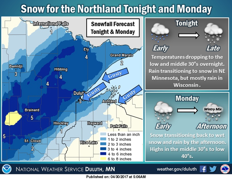 Duluth MN Weather - Winter Storm Warning Issued