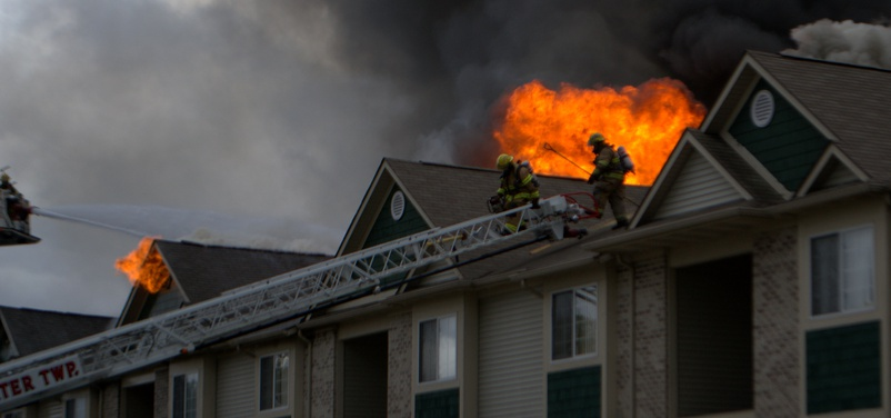 Photos: Fire At Clearview Apartments In Holland October 10, 2012 ...