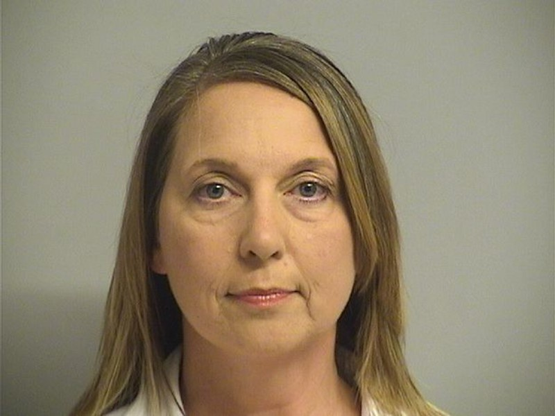 Oklahoma officer says she recalled training as she shot man