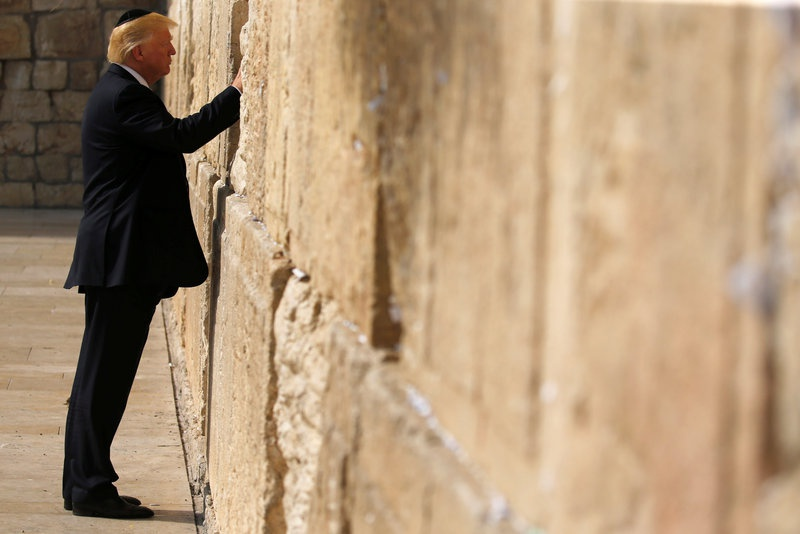 Trump Travels To Bethlehem For Meeting With Abbas