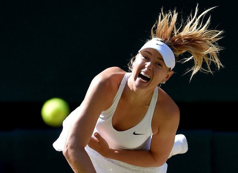 Maria Sharapova to face Roberta Vinci in Stuttgart