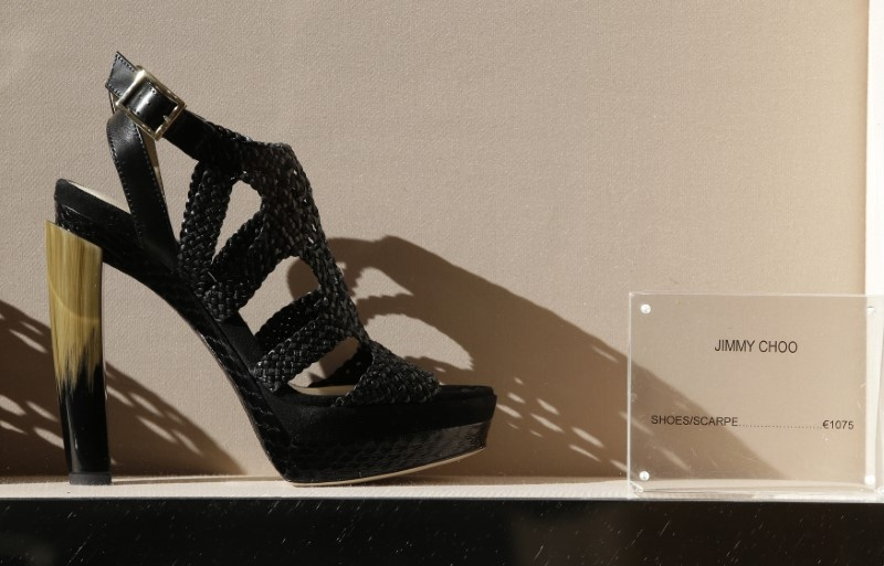 Jimmy Choo puts itself up for sale amid strategic review