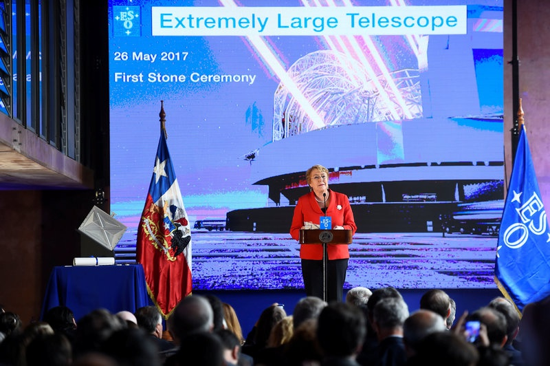 Construction starts on world's largest telescope