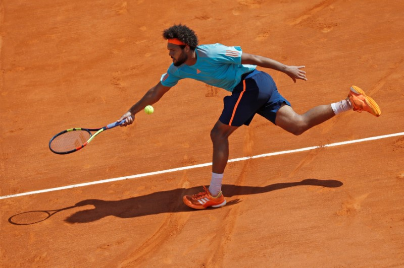Raonic and Tsonga reach Lyon semifinals