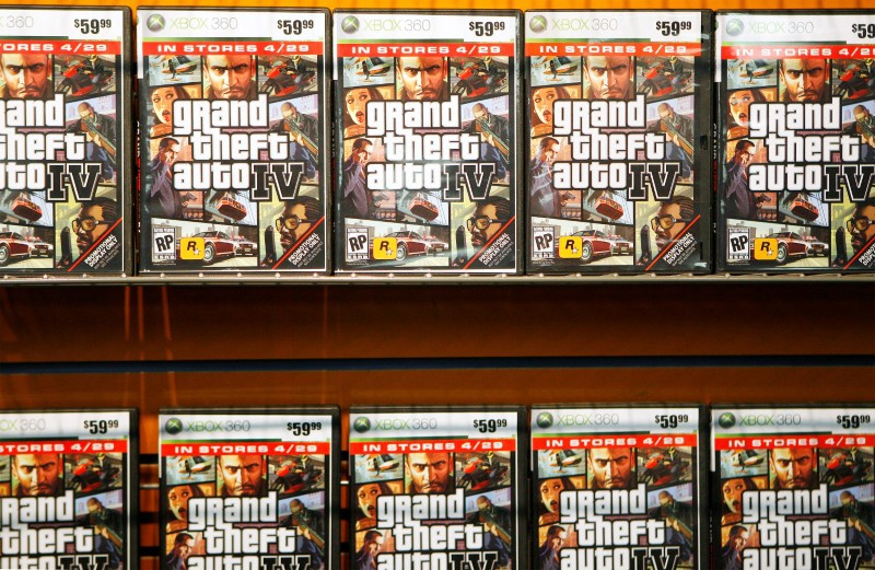 'Grand Theft Auto' maker Take-Two raises revenue forecast