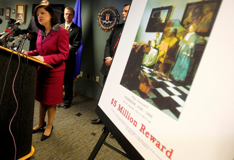 Boston museum doubles reward for stolen artwork to $10M