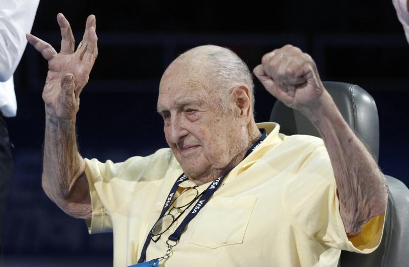 Oldest US Olympic gold medalist Kiefer dies at 98