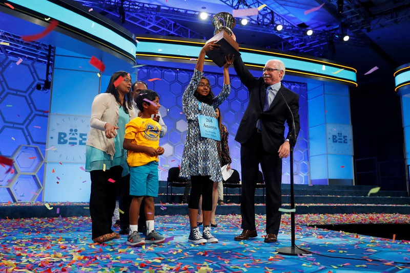 Indian-American Ananya wins US National Spelling Bee contest