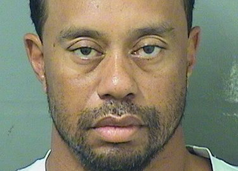 Officers found Tiger Woods asleep at the wheel