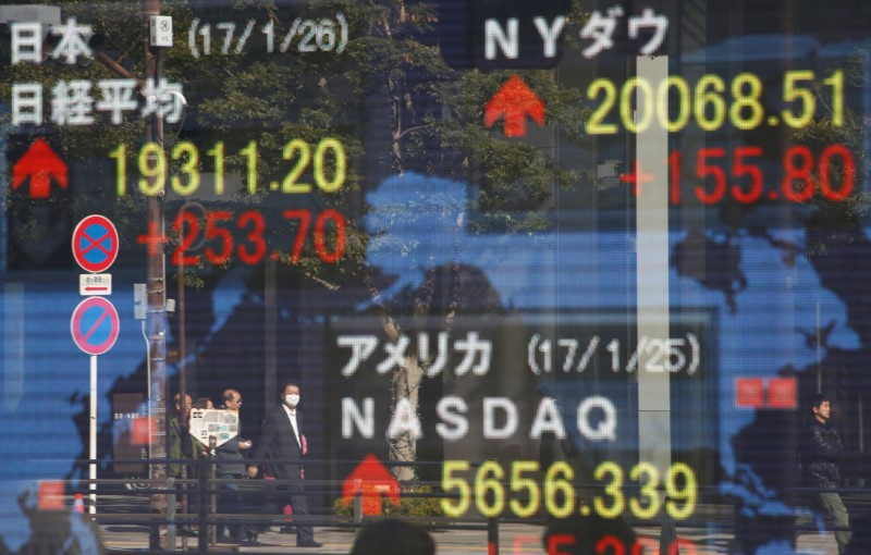 Asia falls as White House turmoil hits risk sentiment, dollar bruised