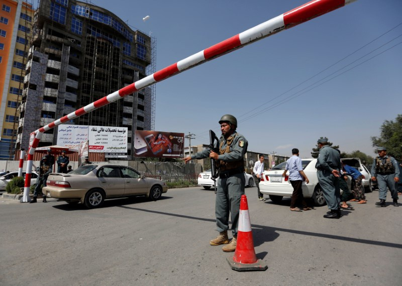 Afghan police seize truck with 18 tons of explosives
