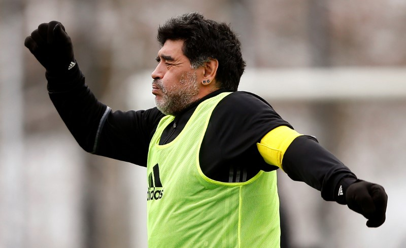 Maradona takes manager job in United Arab Emirates