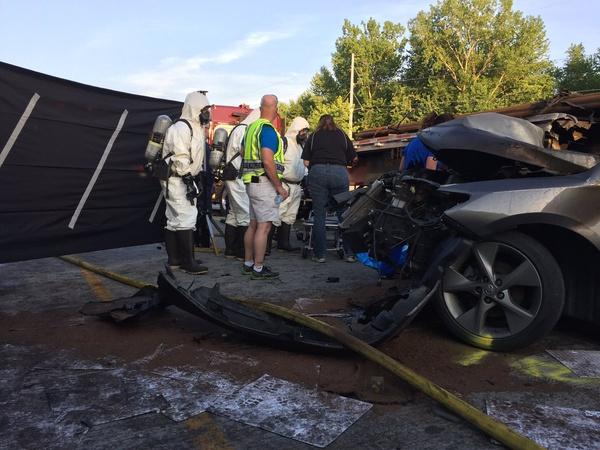 One killed in crash on SR37 near Bloomington