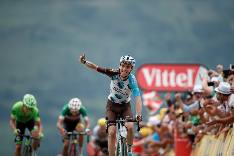 Bardet and Aru strike Froome blow