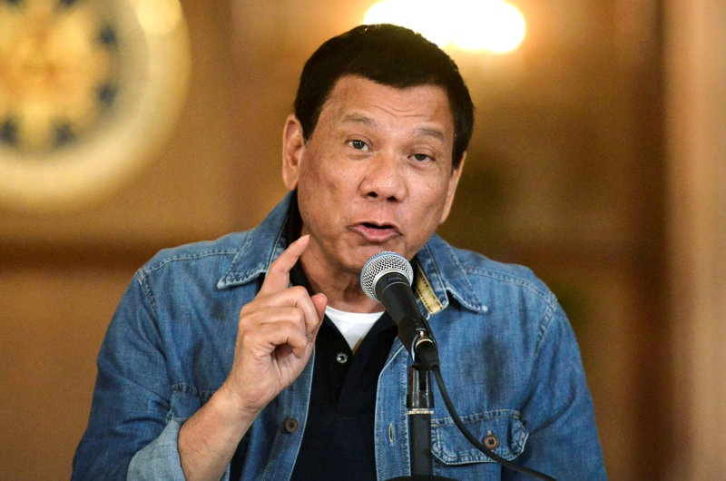 Philippines president jokes about rape in speech to soldiers