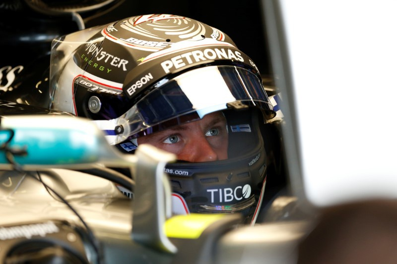 Bottas beats Hamilton in British GP practice