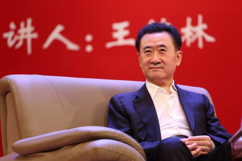 Wanda Film in Trading Halt After Shares Plunge 10%