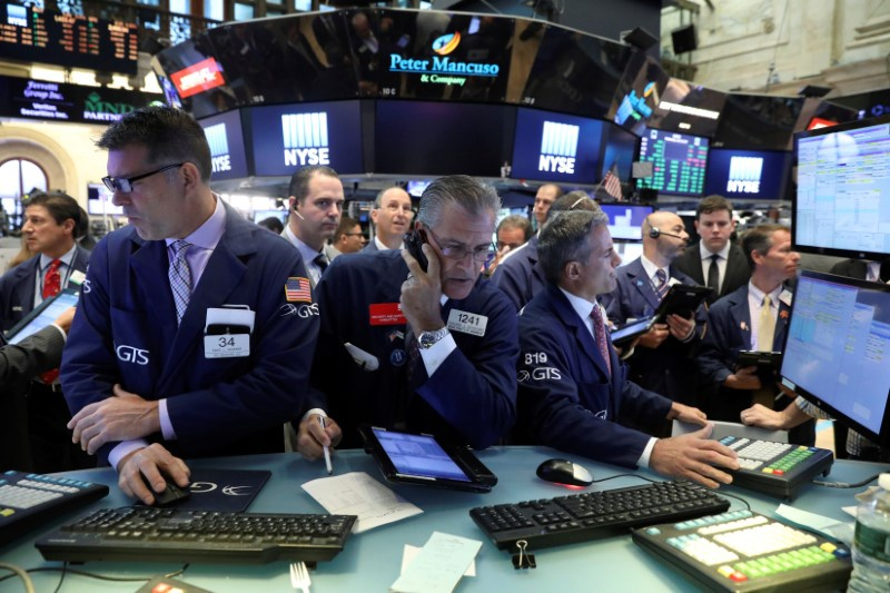 US stocks slip amid heightened US-North Korea tensions