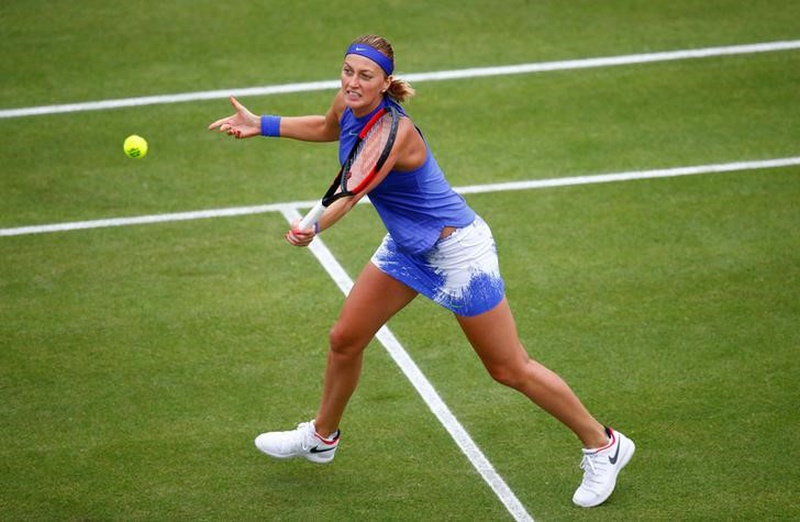 Aegon Classic: Petra Kvitova reaches first final since stabbing