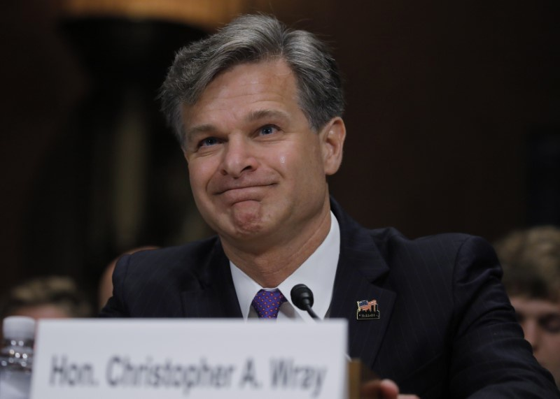US Senate Panel Approves FBI Director Nominee Wray
