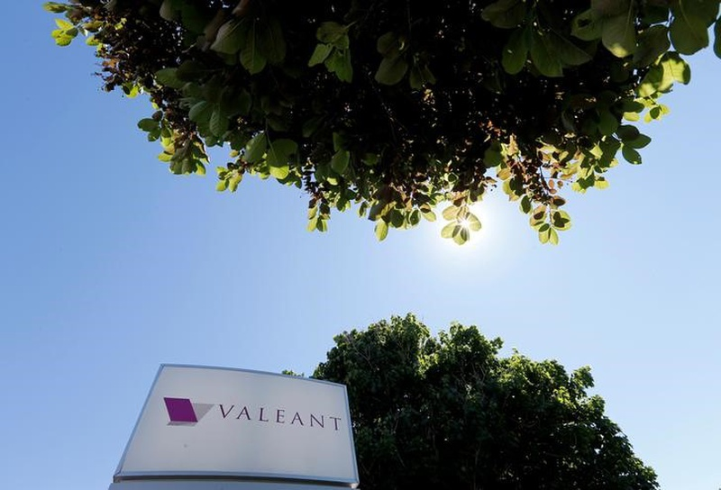 Hedge fund Paulson & Co declares 6.3 percent stake in Valeant