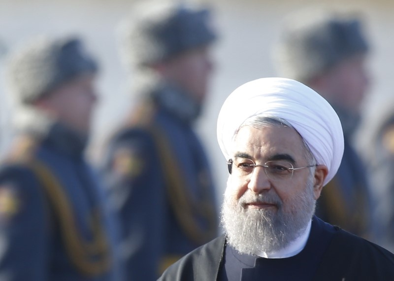 Iran's Rouhani calls Assad to stress backing for Syrian state