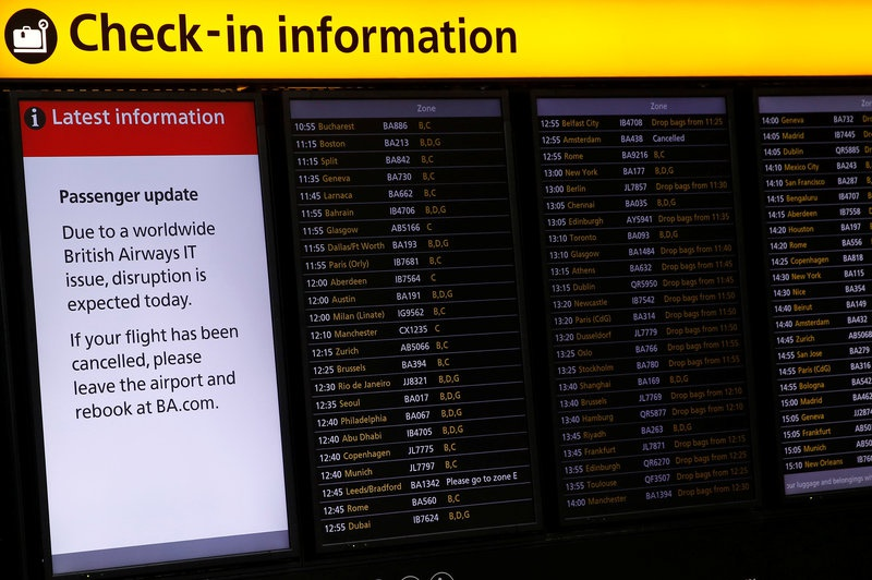 British Airways CEO blames IT outage on