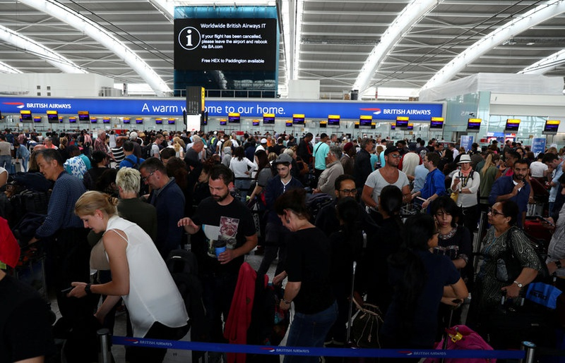 British Airways travelers face third day of delays, cancellations