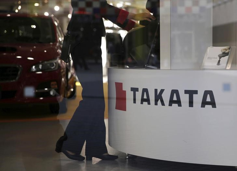 Takata air bag inflator ruptures during auto  fix , killing man
