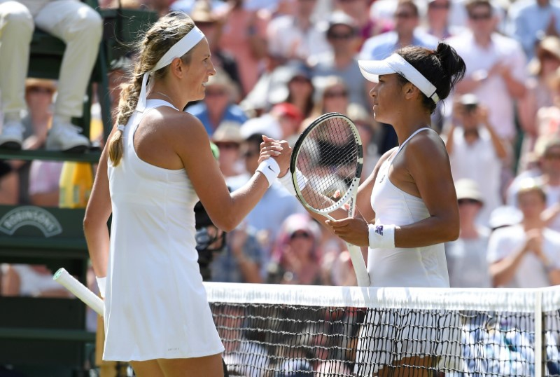 Wimbledon 2017 women's round-up: Heather Watson powers past 18th seed Anastasija Sevastova