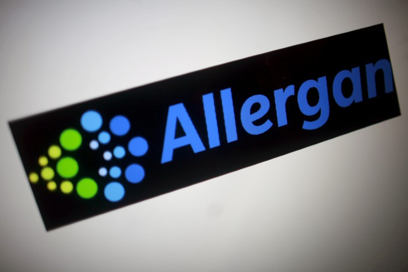 Allergan's quarterly revenue rises 5.1 percent