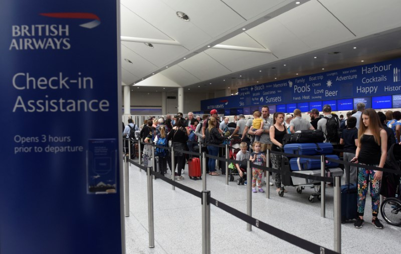 British Airways puts cost of computer shutdown at £80m